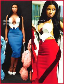 -------    Découvrez  Nicki Minaj en shoot + interview pour le magasine  « GQ »  -  Octobre 2014.     Je lui met un bon top vraiment. Je suis trop fan de toutes les photos. L'effet naturelle de Nicki lui va   bien sur les photos, j'adore trop.  -------