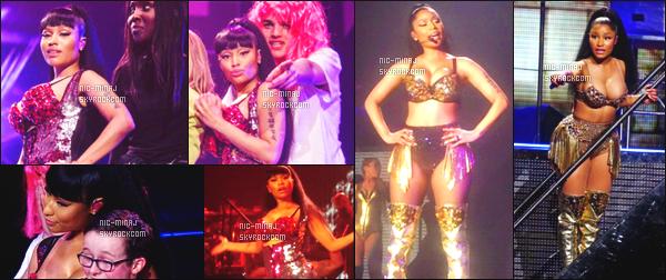 ------- 01/04/15:  La jolie Nicki Minaj photographiée pendant sa tournée en Europe « The Pink Print Tour » - à Belfast. Pleins de photos toujours prient par les fans présent lors de se concert, peu de photos et la qualité n'est pas top, je suis vraiment désolé. -------