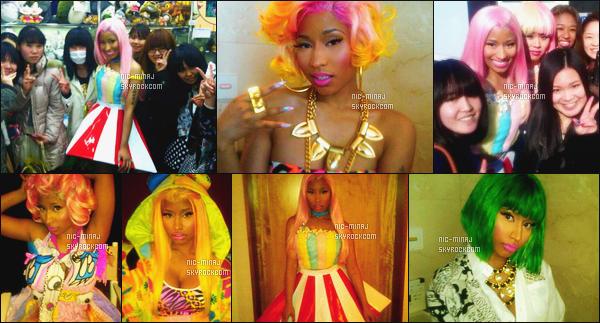 '''''''''''''''''''''' ------------------------ DES PHOTOS  DE NICKI SUR LES RÉSEAUX SOCIAUX - MARS 2012.  Nicki a posté quelques photos d'elle lors de son sejour à Tokyo. J'aime beaucoup les tenues super original que porte Nicki extravagante.  ''''''''''''''''''''''
