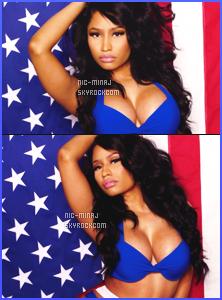 ------- ● ● Découvrez la belle Nicki Minaj pour le magazine « Cosmopolitain » - Juin 2015. Nicki Minaj est vraiment   top. J'Nicki Minaj est sexy en couverture de Cosmopolitan US, pour le numéro de Juillet.  Elle est tellement canon.  -------