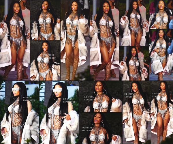 ------- 29/02/16: Notre princesse  Nicki Minaj   photographiée sur le tournage d'un nouveau clip avec Futur - à Miami  Nicki  est tellement sublime.  Elle est tellement sexy, j'adore trop, encore une fois, elle ne blague pas, j'adore trop ses longs cheveux brun. -------
