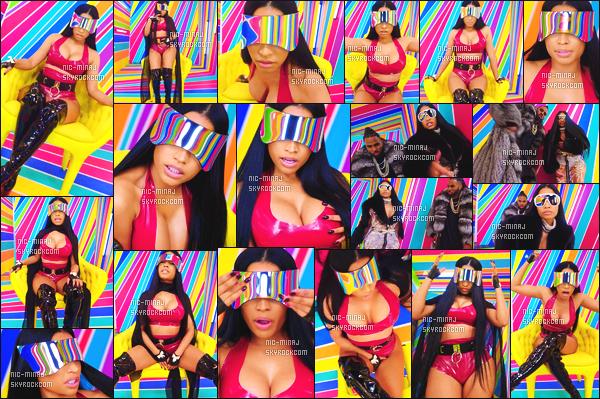 -------   Découvrez le clip de Jason Deluro avec mlle Nicki Minaj « Swalla »  -  Mars 2017.     ~ Extrait de l'album de Jason Deluro. J'aime assez se clip, dommage de ses lunettes de soleil qu'on ne voit pas les   yeux de Nicki Minaj.  -------
