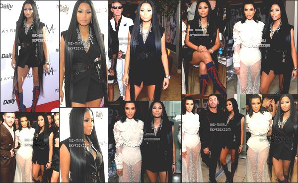 ------- 02/04/17:  Jolie Nicki Minaj photographiée à l'événement de    «  Fashion Awards » dans la soirée - à Los Angeles. Mlle Nicki Minaj a reçu,  le prix  Fashion Rebel  aux Fashion Awards. J'adore beaucoup cette tenue. Petit flop pour cette paire de bottes. -------