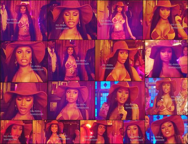 ------- ● ● Découvrez le clip de DNCE avec   Nicki Minaj « Kissing Strangers » - Mai 2017.  ~ Extrait de l'album de   DNCE. Se clip est assez simple mais j'adore beaucoup. Elle est hyper sexy notre Nicki en cow boy je suis assez fan.  -------