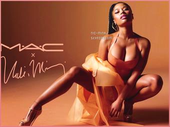 ------- ●● Découvrez la nouvelle collaboration de mlle Nicki Minaj  pour «MAC Cosmetics». Toujours trés actif mlle Nicki, maintenant elle se lance à nouveau pour un produit rouge à levre edition limité pour la grande marque  MAC.  -------