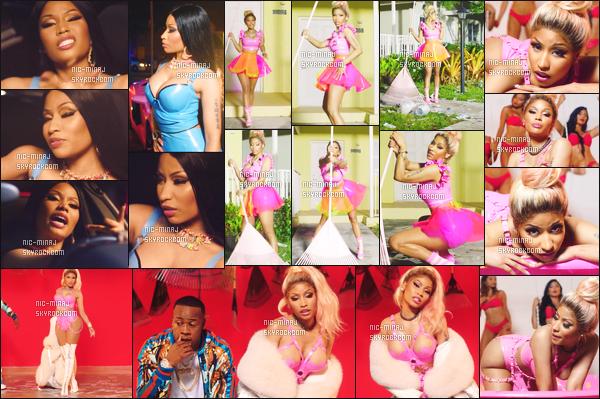 -------   Découvrez  le clip   hot  de    Nicki Minaj  pour « Rake It Up »  avec Yo Gotti -   Août 2017.     Clip de Yo Gotti pour son album accompagnée de Nicki Minaj.  Je suis tres fan du clip, j'adore assez cette chorégraphie du début. Gros top.  -------