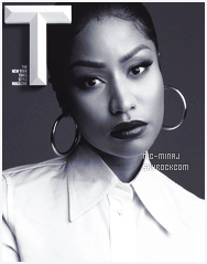 -------   • Découvrez  Nicki Minaj pour le magazine  « New York Times »  - Septembre 2017.     Traduction faite par le site HNM. Merci pour se travail dure. J'adore assez les photos, c'est assez simple mais cela lui va tellement bien.  -------