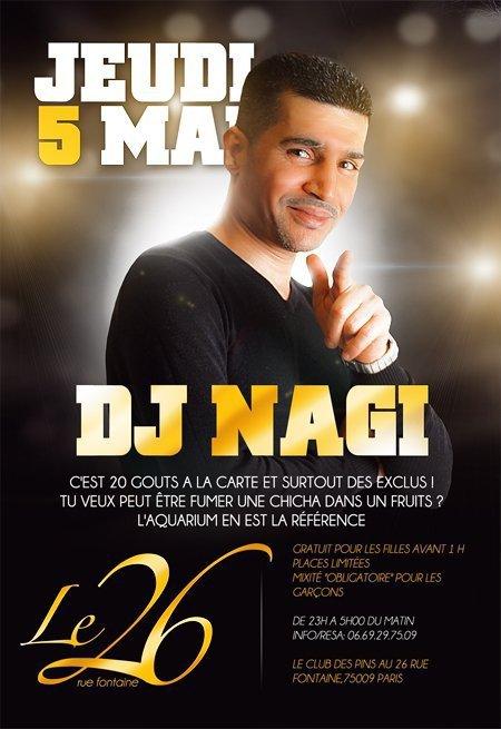 Deejay Nagi Le 5 Mai Au Club-Des-Pins