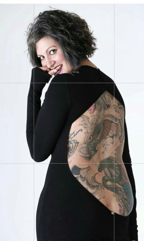 Beautiful reina tatouage merveilleux