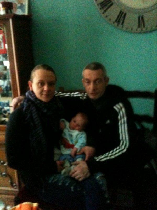 moi mon homme et mon petit fils
