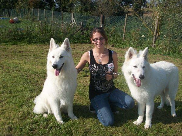 Anais avec Casper et Galack