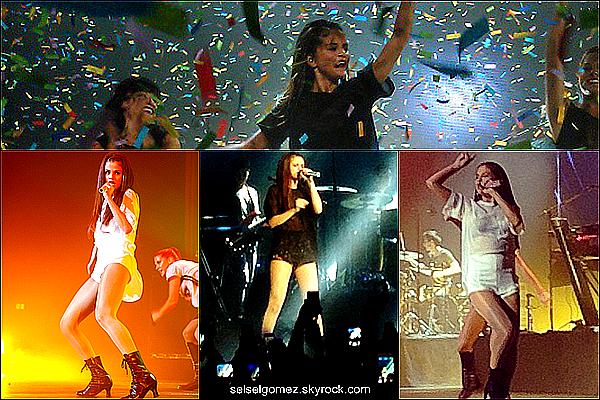 _ 01/09/13 : Selena à donnée, hier un concert qui a eu lieu à Oslo ( Norvège) .    _