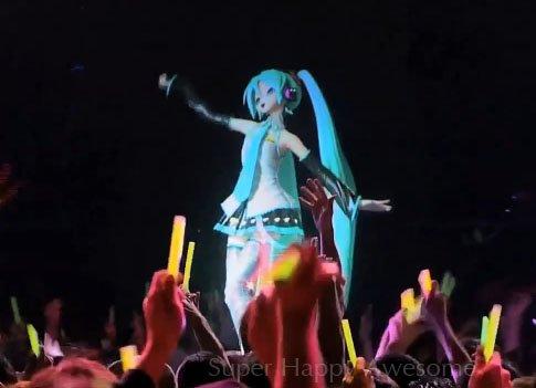 Hatsune Miku - Une chanteuse en hologramme !
