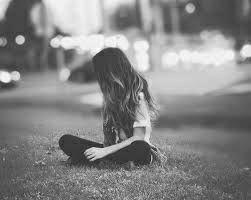 A girl alone