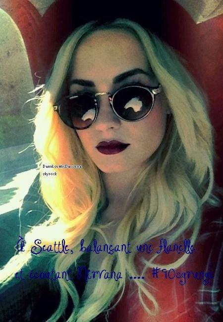 Demiboo a posté une très belle photo d'elle sur sont twitter ( ddlovato ) que pensez vous de la photo ?