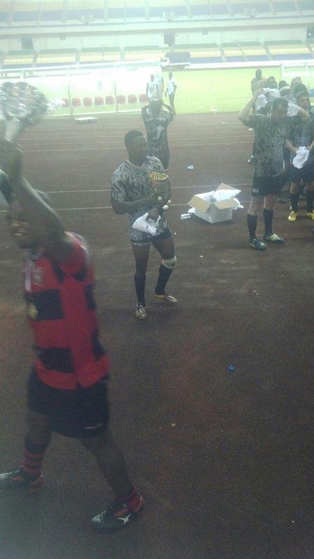 Champions de rugby Gabon