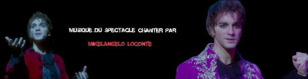 Musique du spectacle chanter par Mikelangelo Loconte