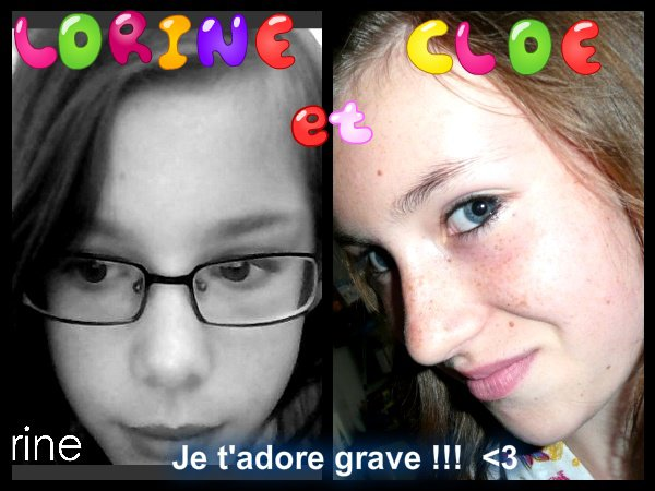 Cloé et moi