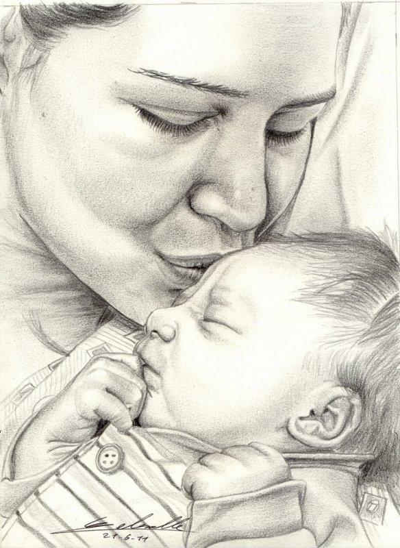 """""""Ma Maman est semblable à une rose qui ne se fane jamais"""""""