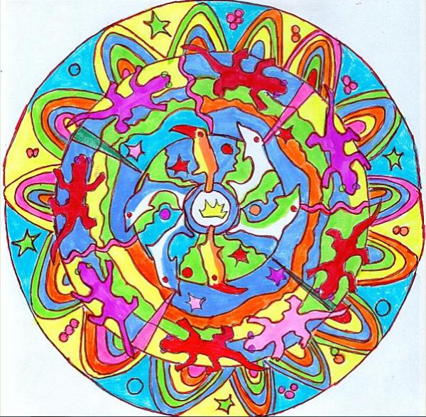 Origine dans la symbolique du cercle, du carré..