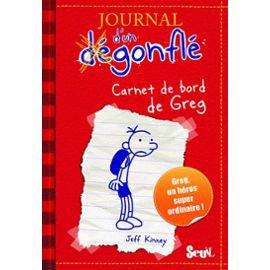 """""""Le journal d'un dégonflé - Tome 1"""", Jeff Kinney"""