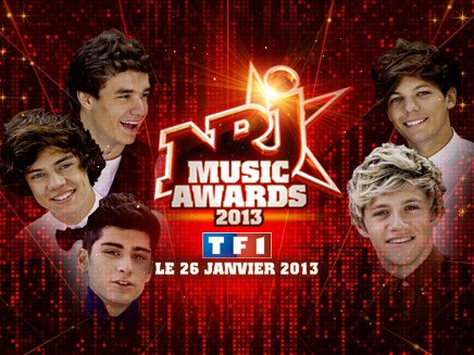 nrj music awards!!!