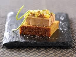Toasts au foie gras et pain d'épices