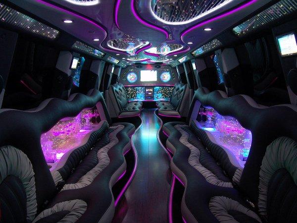 interieur  dans limousine