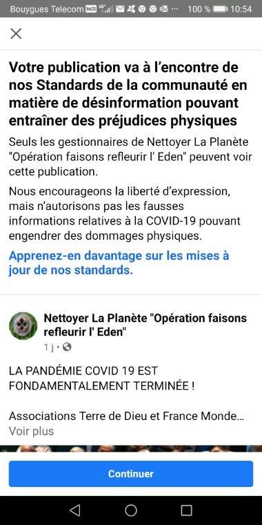 LA PANDÉMIE COVID 19 EST FONDAMENTALEMENT TERMINÉE !