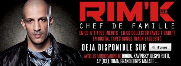 ALBUM RIM'K  -  Chef De Famille 2012
