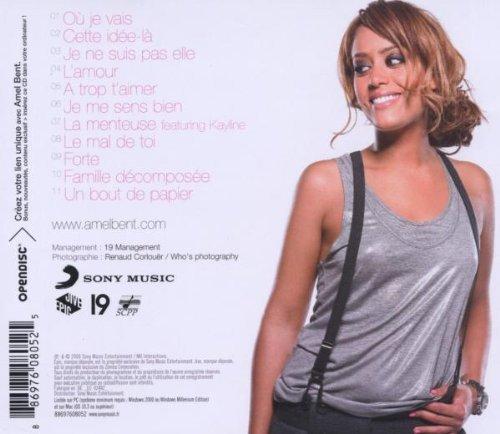 ALBUM AMEL BENT  -  Ou Je Vais 2012