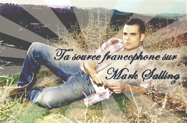 MarkSalng ta nouvelle source sur l'acteur de Glee