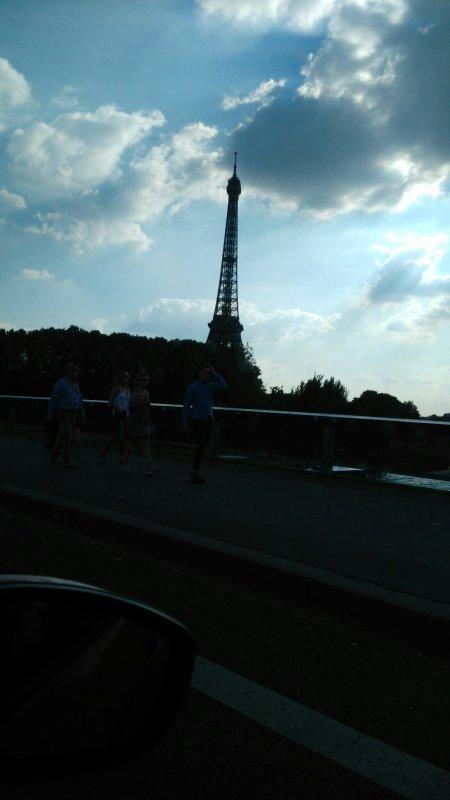 Arrivé a Paris
