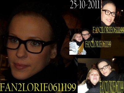 Rencontre avec Lorie le 25/10/2011