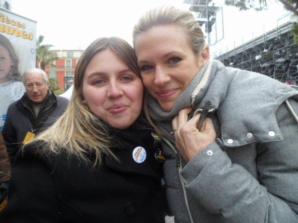 Lorie et moi à Nice le 11-02-2012