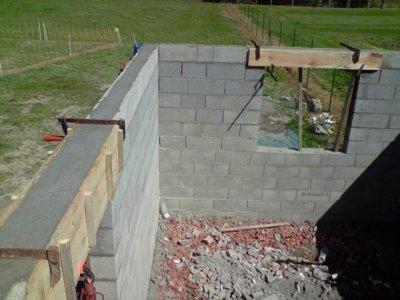 Coulage en beton de la ceinture blog de jimmyjoker - Faire un muret en beton ...