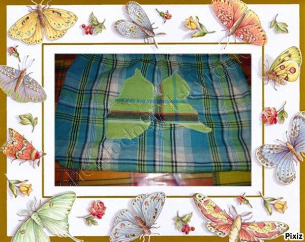 le sac de goûter en tissu de madras n°2