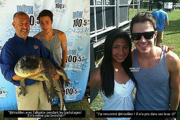 __ 16/06/12 - Kris a donné un concert à Sacramento, au festival Pet-A-Palooza !                       .