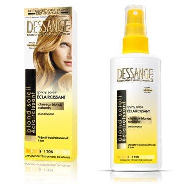 jai test le spray claircissant dessange - Spray Colorant Pour Cheveux