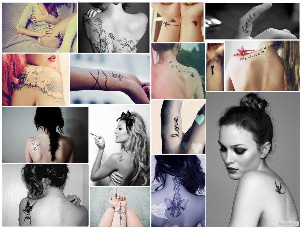 Les tattoos sans tabou !