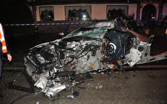 Un père de famille se tue au volant à Gosselies , Le 12 Juillet 2012