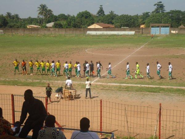 un match de foot