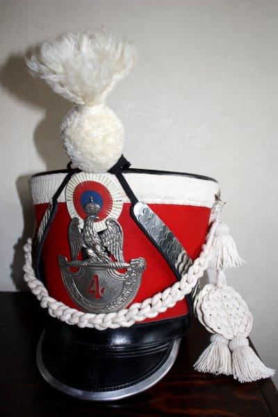 Shako du 4e Rgt de gardes d'honneur