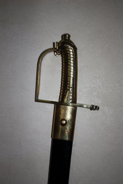 Sabre briquet modèle 1767
