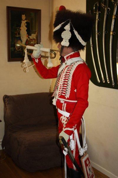 Trompette du 8e Rgt de hussards 1808