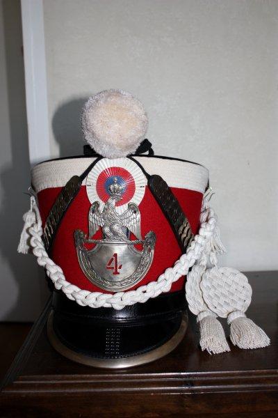 Shako de garde d'honneur