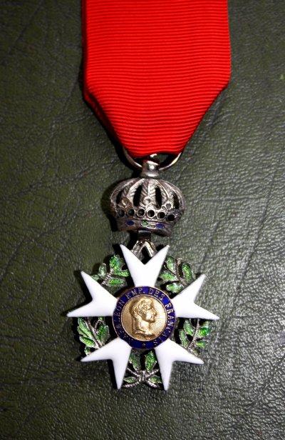 Croix de chevalier de la légion d'honneur