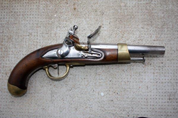 Pistolet de cavalerie modèle AN XIII