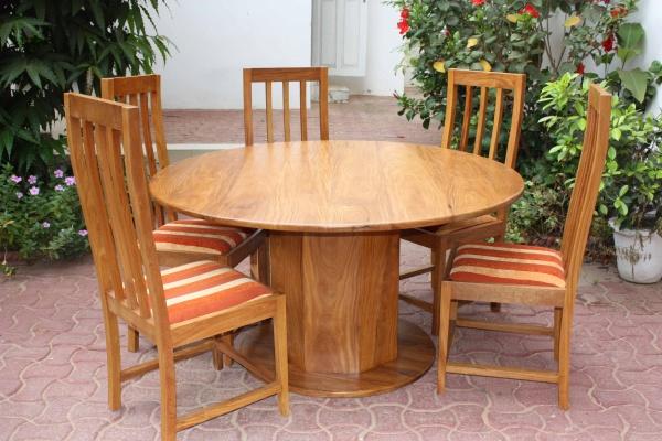 Table ronde en bois dimb blog de qualte sept design - Table ronde bois design ...