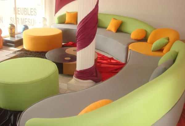 salon d 39 angle aqua couleur gris vert anis blog de. Black Bedroom Furniture Sets. Home Design Ideas